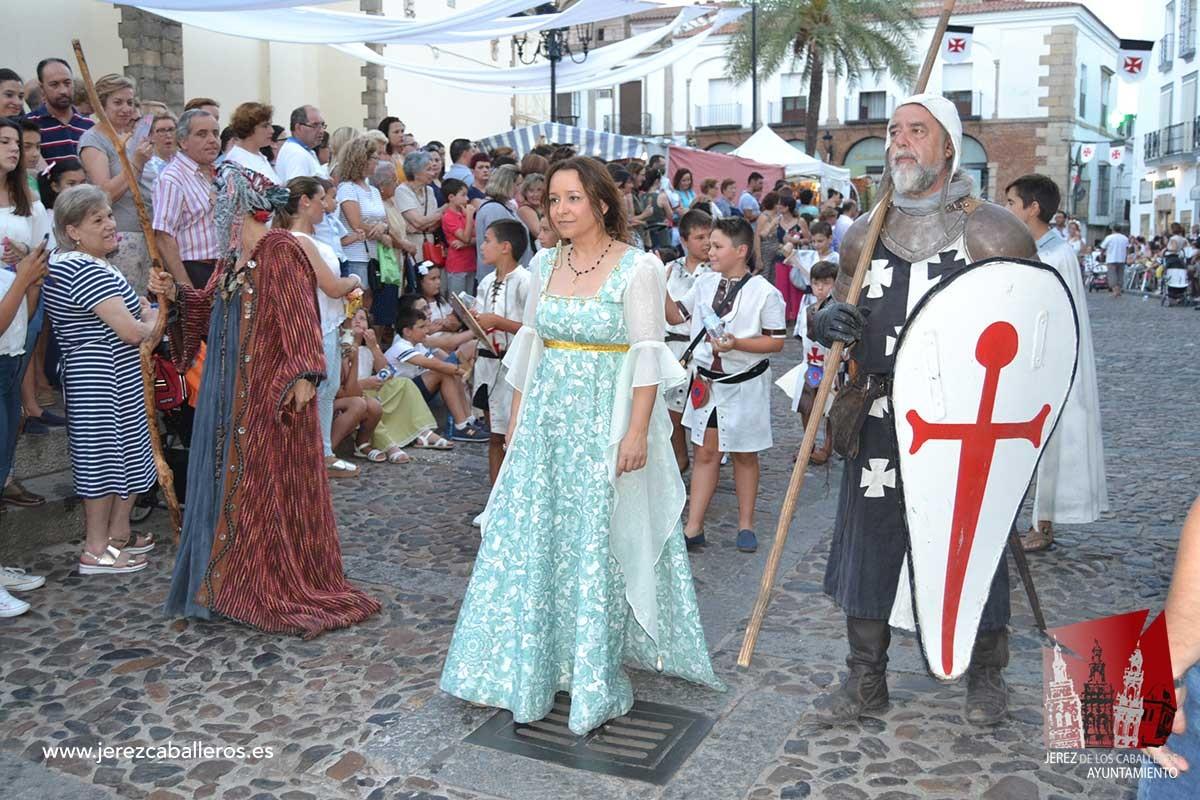 Festival Templario De Jerez De Los Caballeros Asociación Española De Fiestas Y Recreaciones Historicas