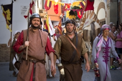 Arco de San Miguel - Comienzo desfile